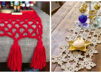 Christmas Table Runner Free Crochet Patterns