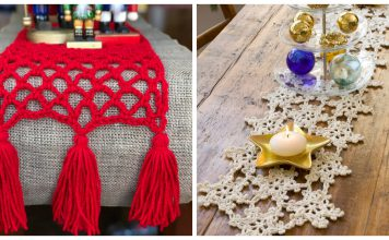 Christmas Table Runner Free Crochet Patterns