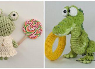Crocodile Amigurumi Crochet Patterns