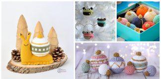 Cute Christmas Bauble Free Crochet Pattern