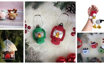 Cute Christmas Ornament Free Crochet Patterns