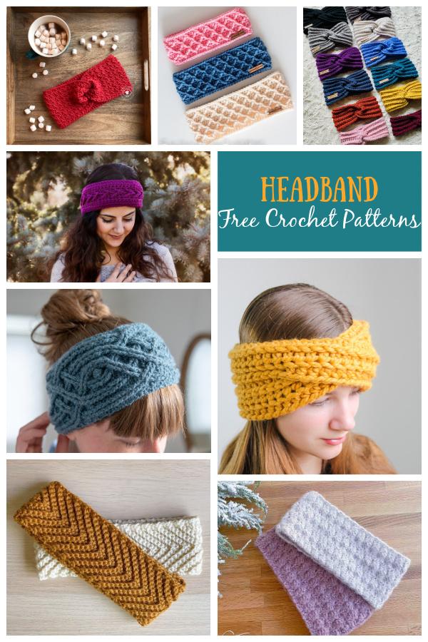 Headband Free Crochet Patterns