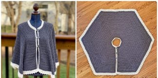 Icing on the Circle Cape Free Crochet Pattern