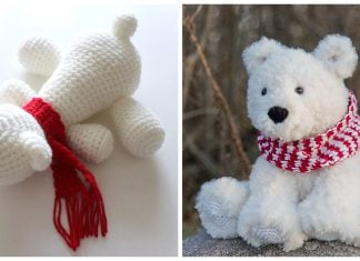 Polar Bear Free Crochet Pattern