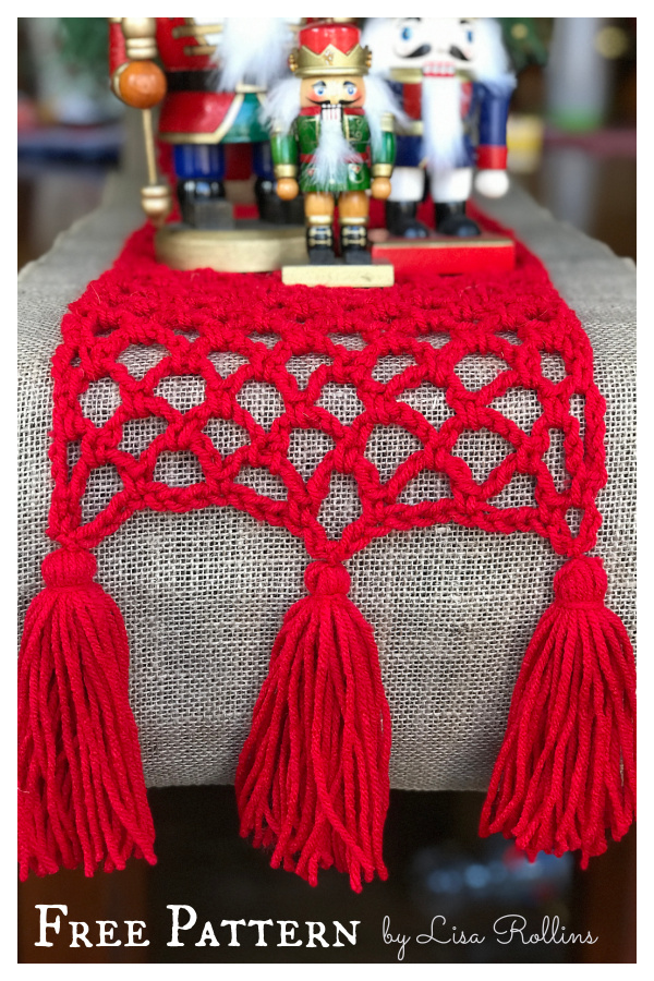 Simply Sweet Christmas Runner Free Crochet Pattern