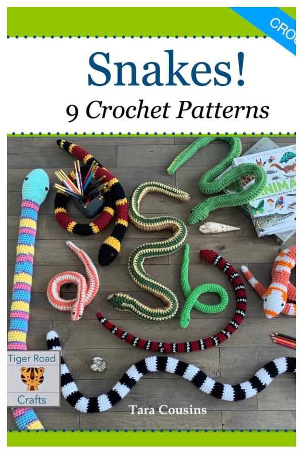 Snake Amigurumi Crochet Pattern