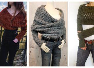 Sweater Scarf Crochet Patterns