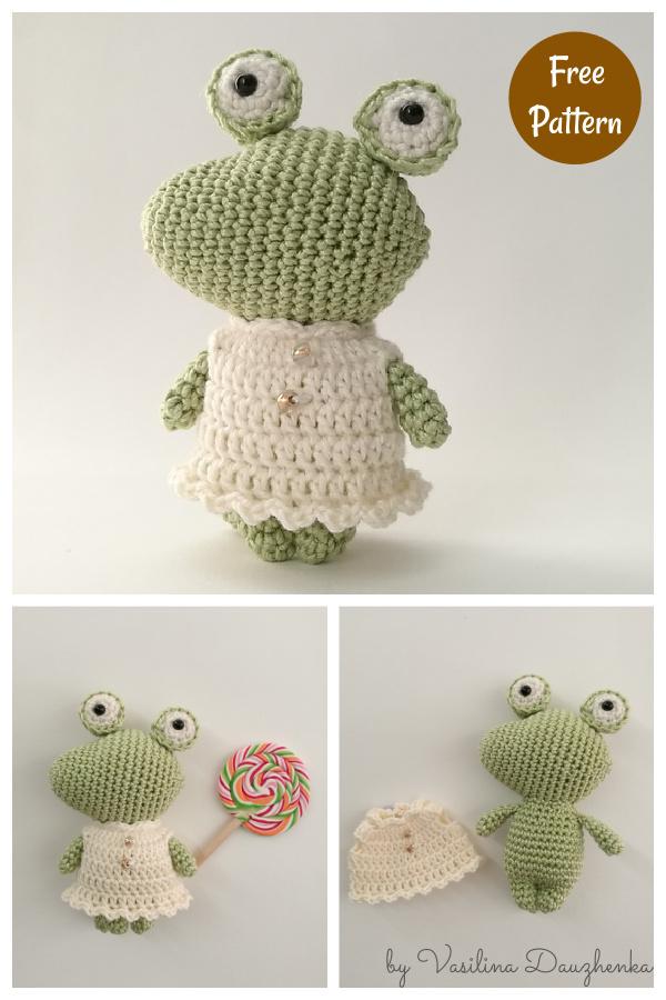 The Little Crocodile Amigurumi Free Crochet Pattern