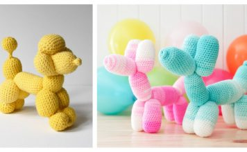 Balloon Dog Crochet Patterns