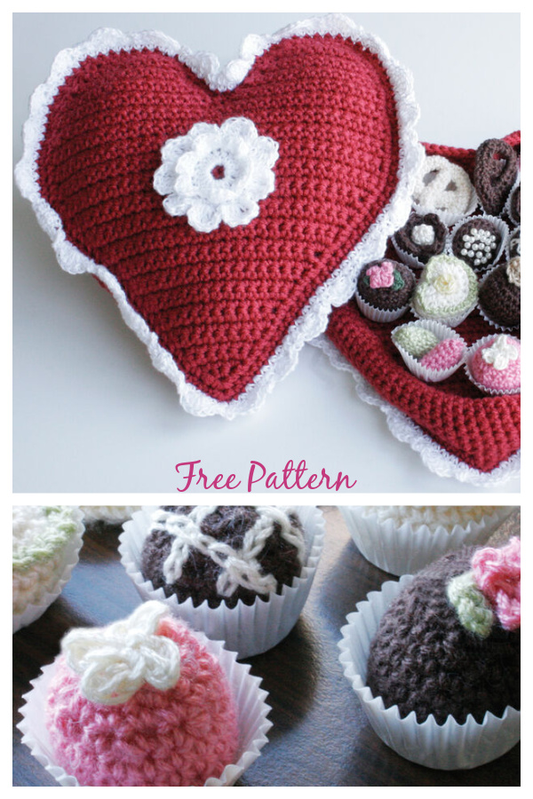 Box of Chocolates Free Crochet Pattern