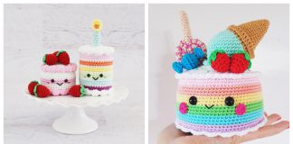 Cake Amigurumi Crochet Patterns