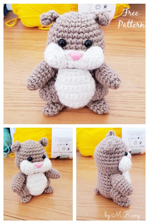 Cheeky Hamster Amigurumi Free Crochet Pattern