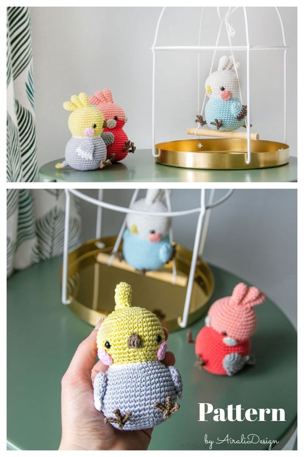 Chubby Birds Amigurumi Crochet Pattern
