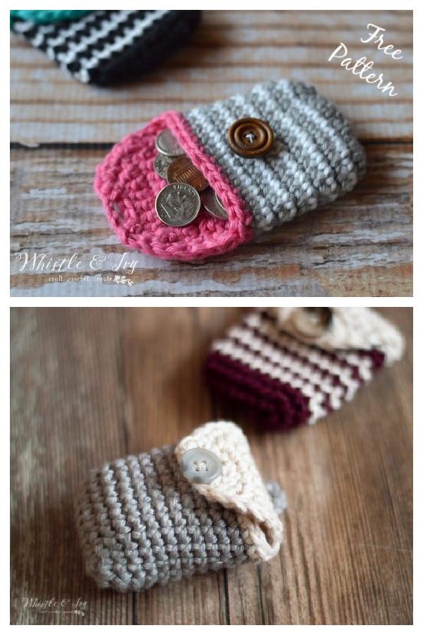 Coin Purse Free Crochet Pattern
