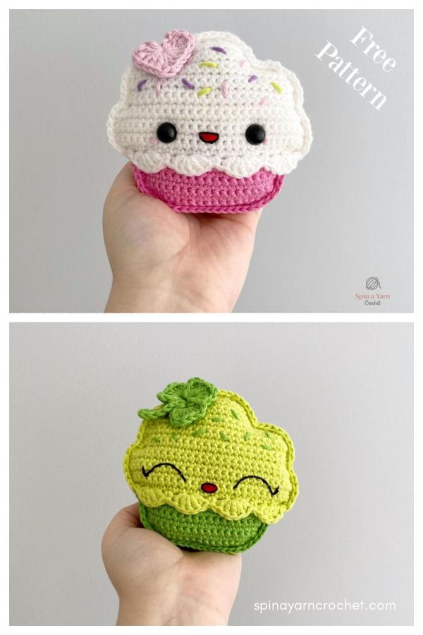 Cupcake Amigurumi Free Crochet Pattern