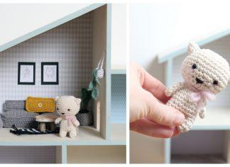 Doll House Free Crochet Pattern