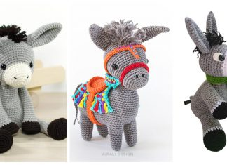Donkey Amigurumi Crochet Patterns
