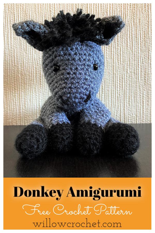 Donkey Amigurumi Free Crochet Pattern