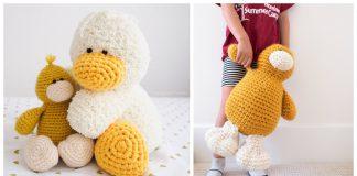 Duck Amigurumi Plush Toy Free Crochet Pattern