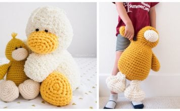 Duck Amigurumi Plush Toy Free Crochet Pattern