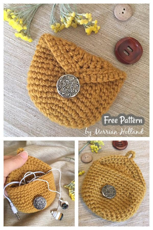 Easy Coin Purse Free Crochet Pattern