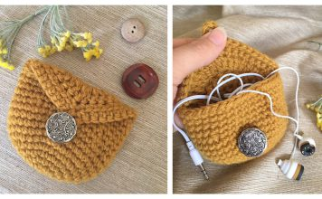 Easy Coin Purse Free Crochet Pattern