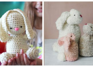 Easy Crochet Bunny Free Pattern