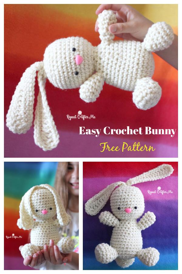 Easy Crochet Bunny Free Pattern