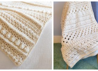 Easy Sampler Blanket Free Crochet Pattern