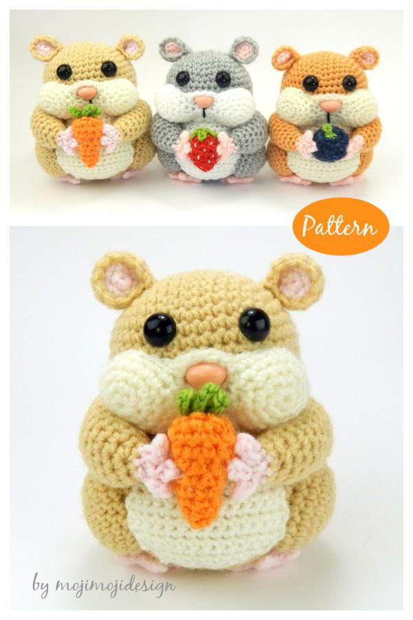 Hamish the Hamster Amigurumi Crochet Pattern