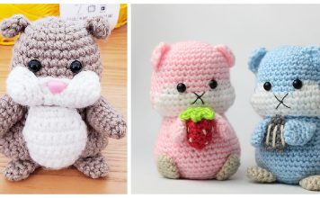 Hamster Amigurumi Crochet Patterns