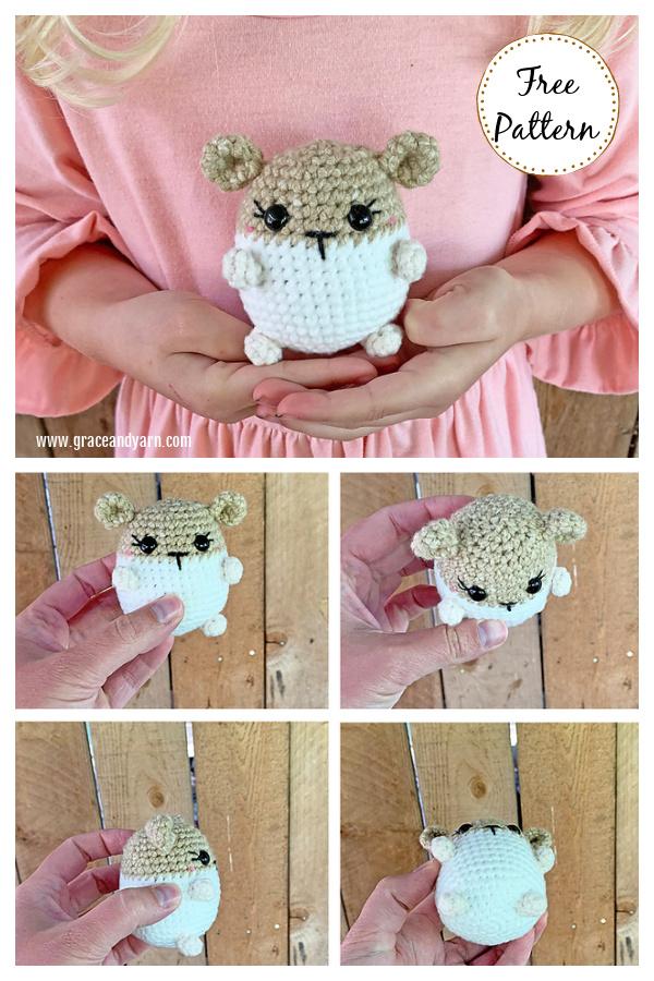 Hamster Amigurumi Free Crochet Pattern