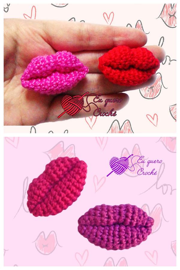 Kiss Free Crochet Pattern