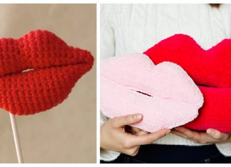 Lips Crochet Patterns