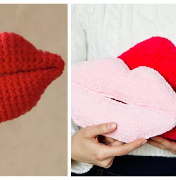 Lips Crochet Patterns