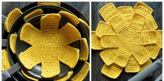 Pan Protectors Free Crochet Pattern