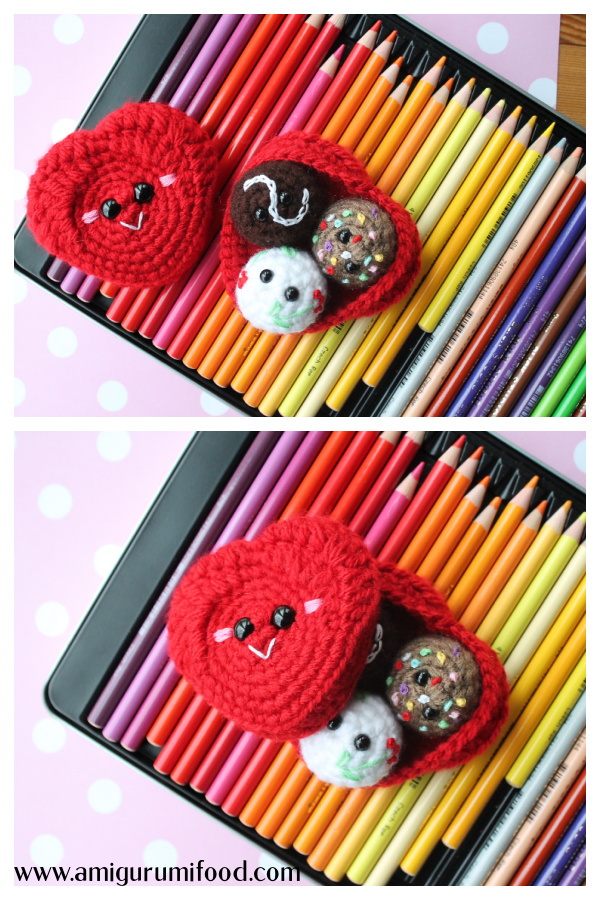 Valentine's Box of Chocolates Free Crochet Pattern