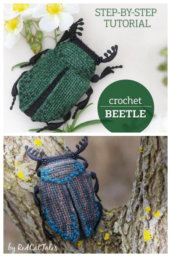 Beetle Crochet Pattern