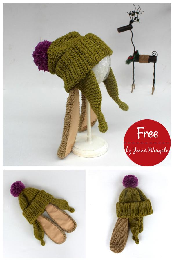 Benjamin Bunny Hat Free Crochet Pattern