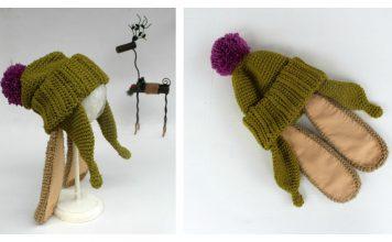 Benjamin Bunny Hat Free Knitting Pattern