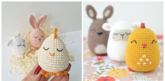 Chick Easter Egg Crochet Patterns