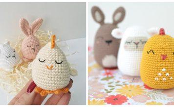 Chick Easter Egg Crochet Patterns