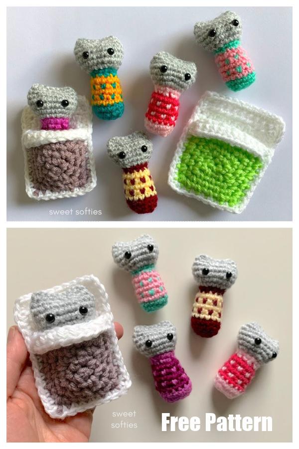 Easy Baby Doll Play Set Free Crochet Pattern