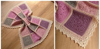 Longing for Snow Baby Blanket Free Crochet Pattern