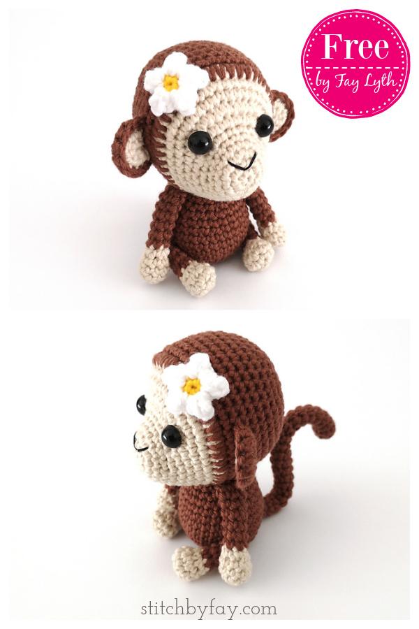 Maisy the Monkey Free Crochet Pattern