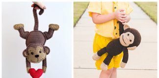 Monkey Amigurumi Free Crochet Pattern