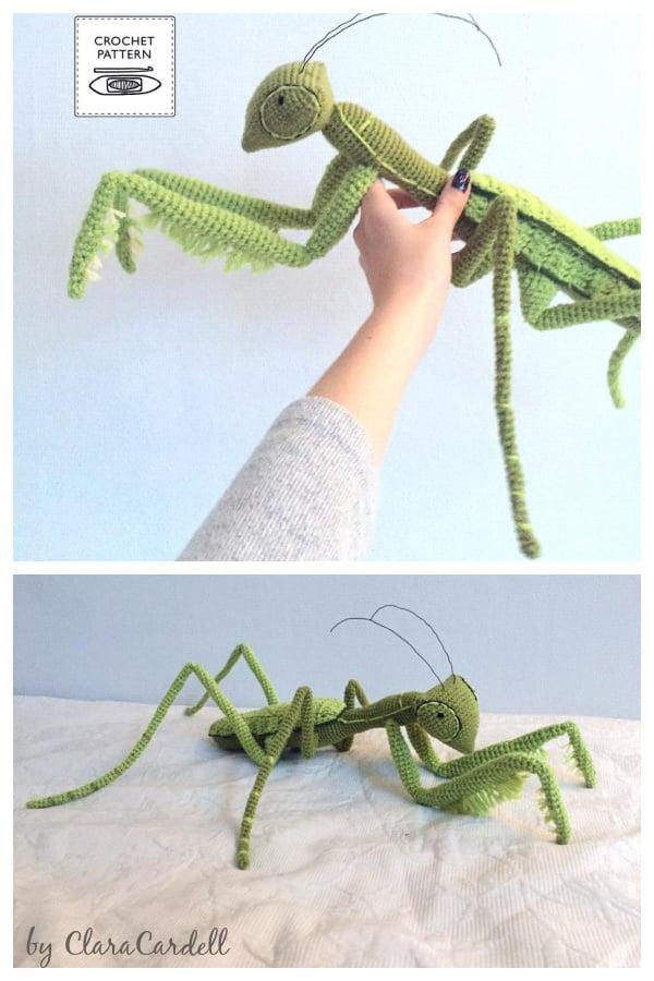 Praying Mantis Crochet Pattern