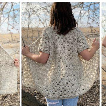 Wild Bloom Cardigan Free Crochet Pattern