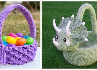 Amazing Easter Basket Crochet Patterns