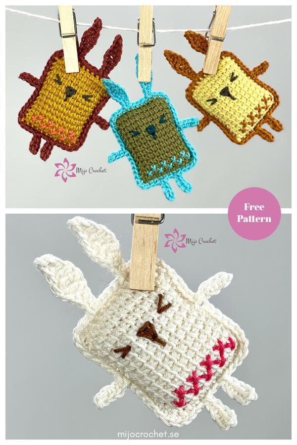 Amigurumi Bitsize Bunny Free Crochet Pattern